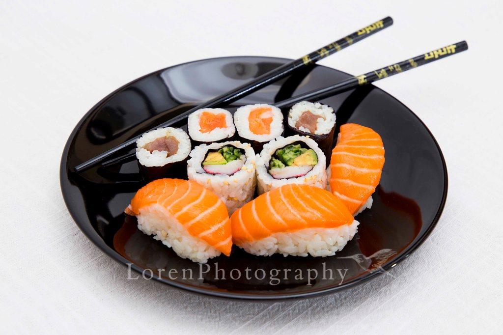 Firmada Plato Sushi Noviembre -  LorenPhotography