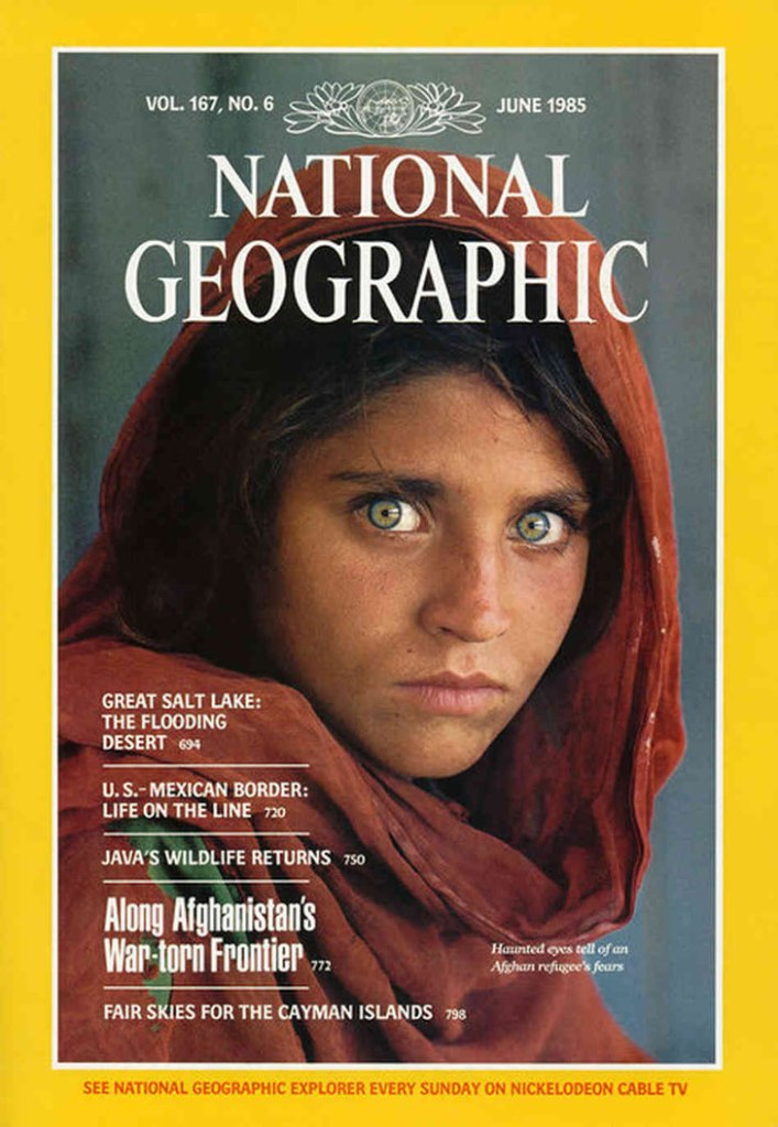 Niña afgana national geographic
