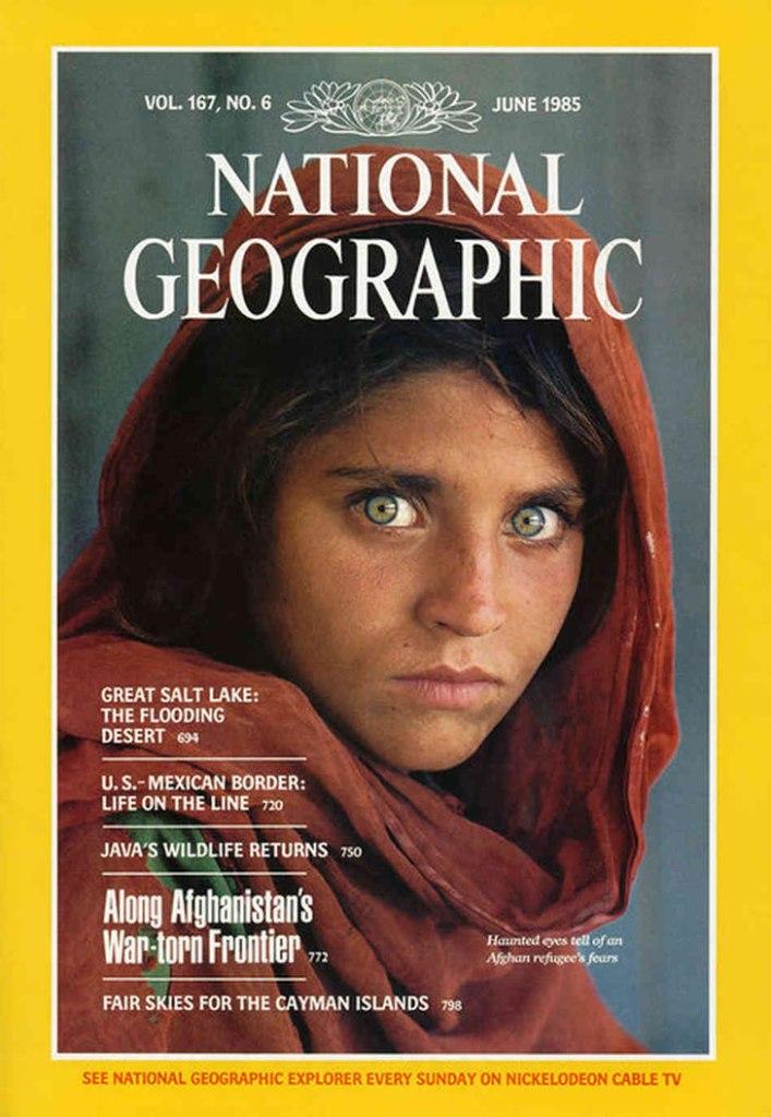 Niña afgana national geographic