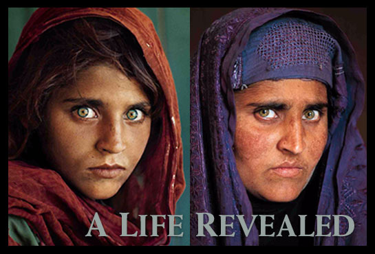 Sharbat Gula 17 años despues por steve mccurry en lorenphotography