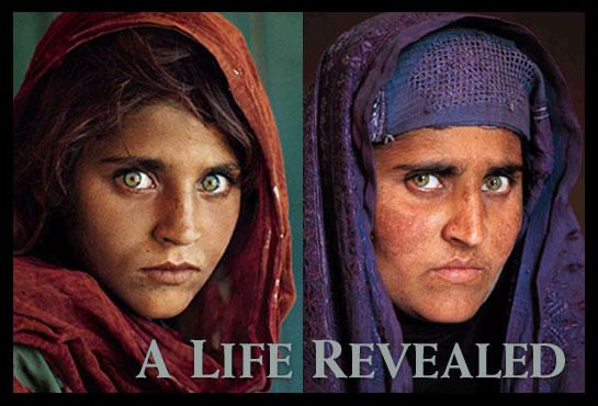 Sharbat Gula 17 años despues por steve mccurry en lorenphotography