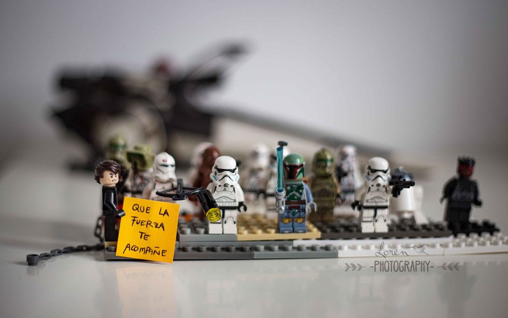 StarWars lego fuerza be with you -LorenPhotography LOW