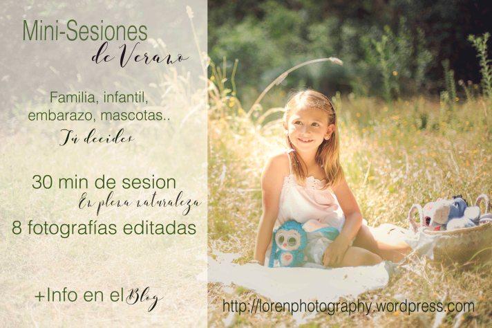 Promocion Minisesion verano LorenPhotography