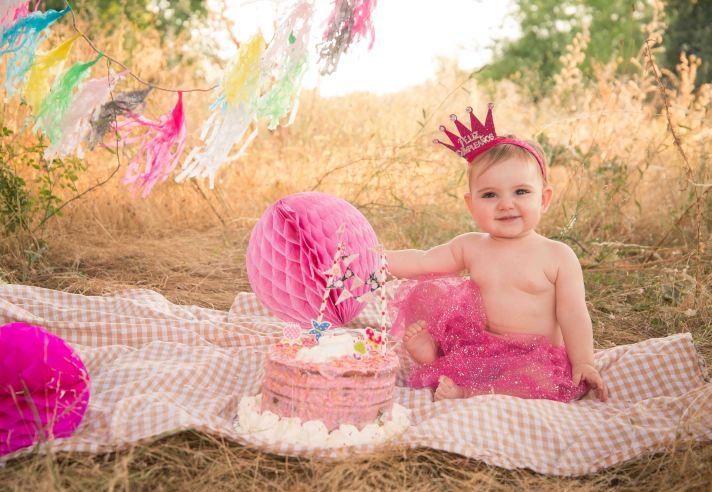 Smash cake cumpleaños sesion familia 5
