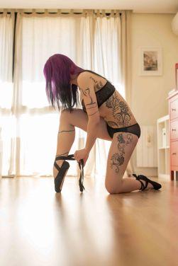 Sesion mujer tatuaje tatto pelo rosa lorenphotography33