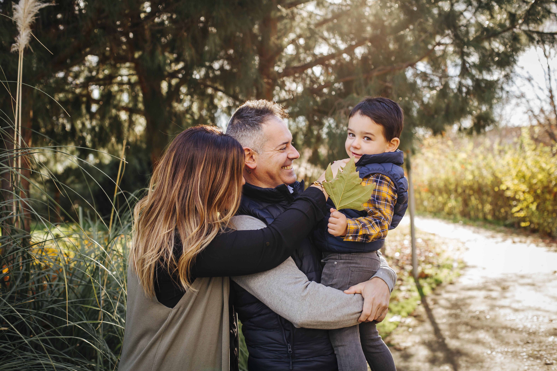 fotografia familiar familia exteriores naturaleza fotografo profesional madrid
